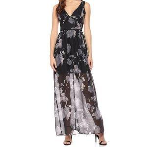 NWT BCBG FLORAL MAXI DRESS